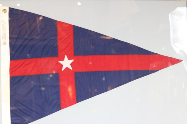 New York Yacht Club Burgee | Framed