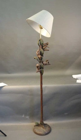 Tropical Monkey Lamp by Huebble