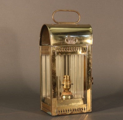 Davey & Co. Brass Yacht Lantern