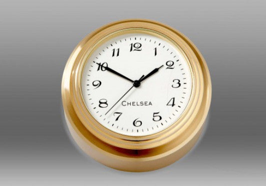 Paperweight Desk Clock by Chelsea