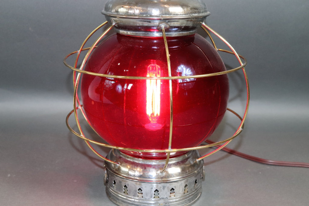 Polished Steel Ships Onion Lantern