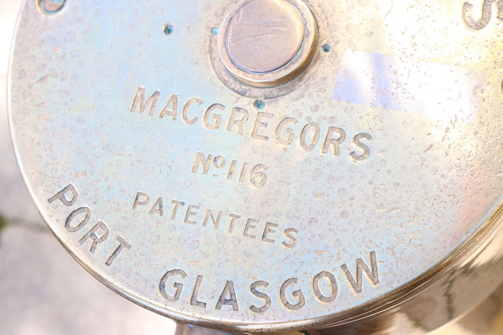 Brass Steering Station by MacGregors of Glasgow