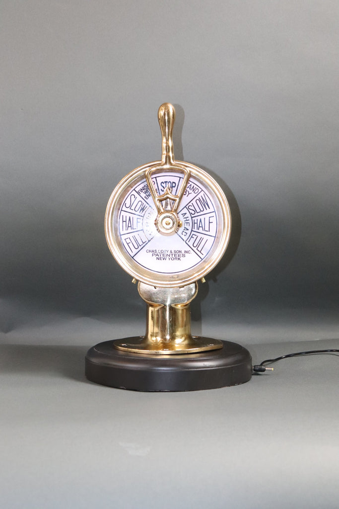 Engine order Telegraph by Charles Cory