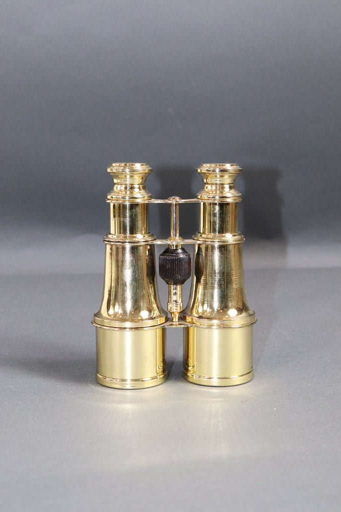 Pair of Solid Brass French Yacht Binoculars