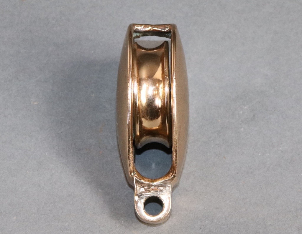 Solid Brass Yacht Pulley