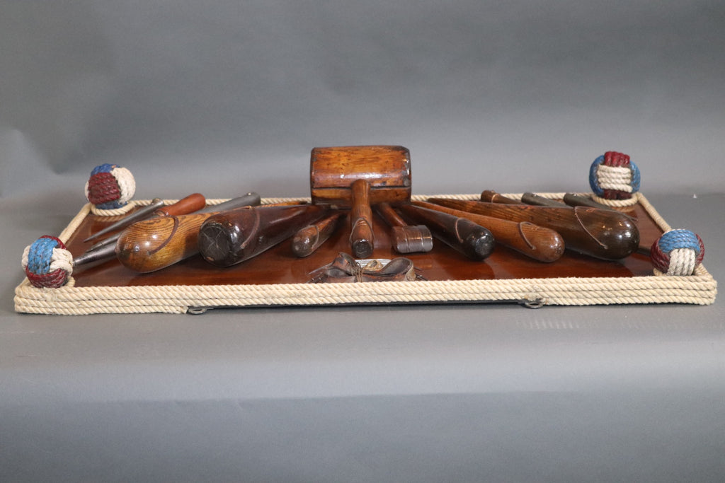 Museum Quality Ships Awl Board with Rope