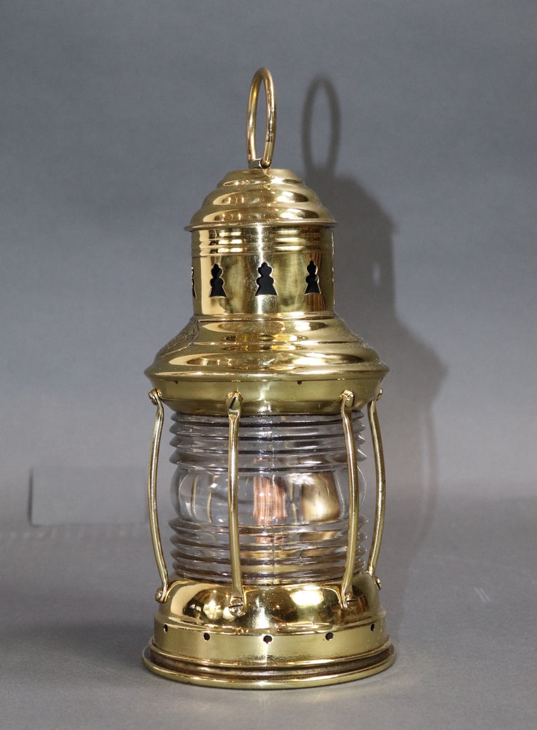 Brass Ships Anchor Lantern by Perko