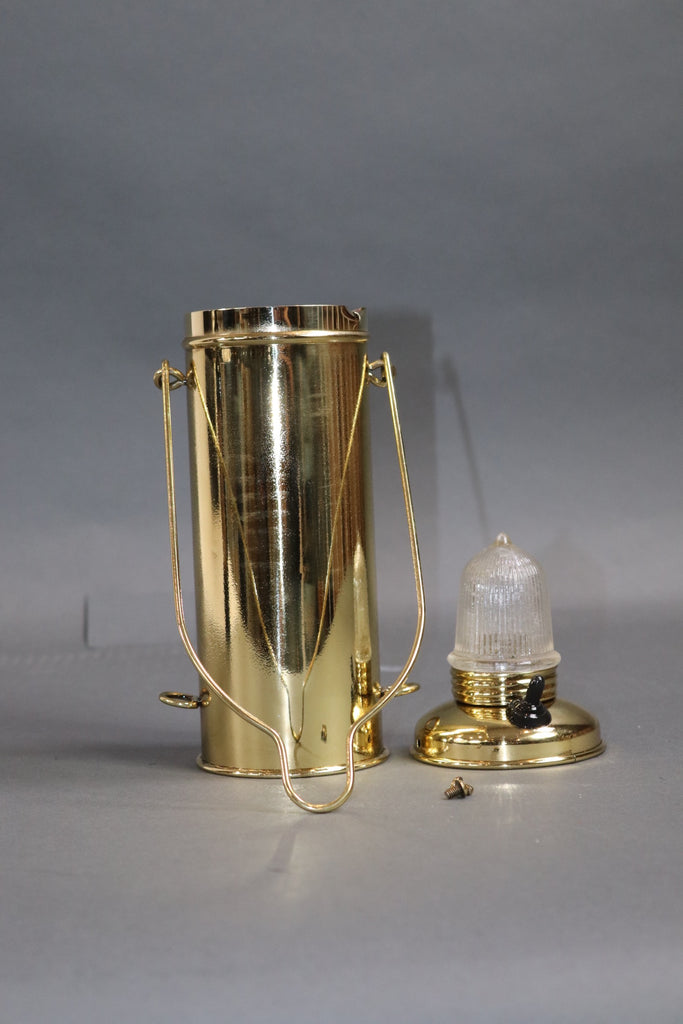 Brass Nautical Distress Lantern