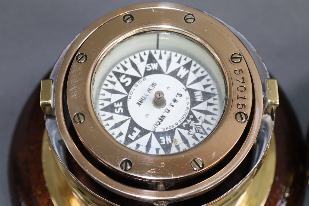Skylight Yacht Binnacle Compass Boston Maker