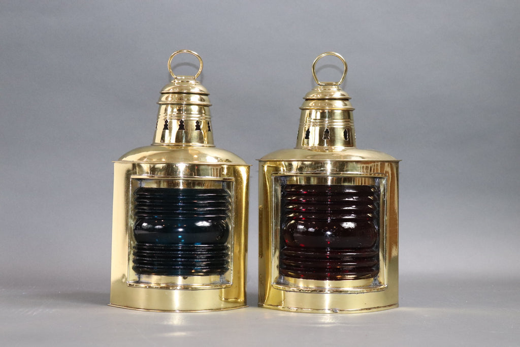Port and Starboard Boat Lanterns