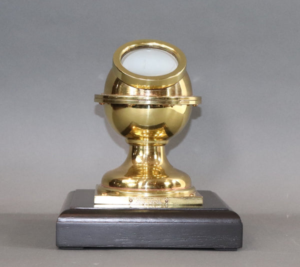 Rare Yacht Binnacle Compass in Brass