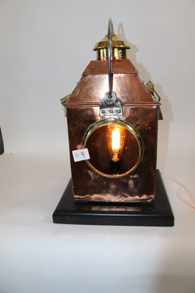 Rare Copper Signal Light