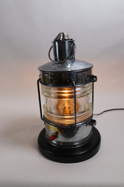 Steel Cased Ships Anchor Lantern