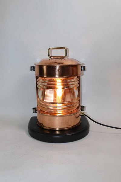 Solid Copper Masthead Lantern