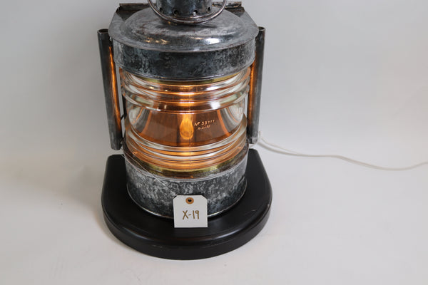 Polished Steel Ships Mastheads Lantern