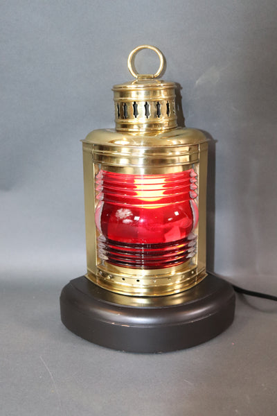 Polished Brass Boat Lantern