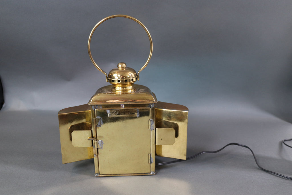 Solid Brass Boat Bow Lantern