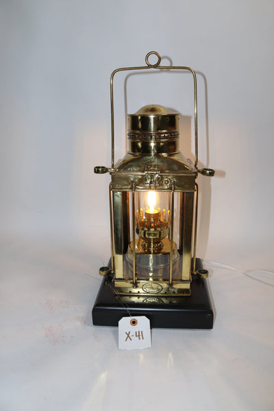 Brass Ships Cabin Lantern by Davey of London