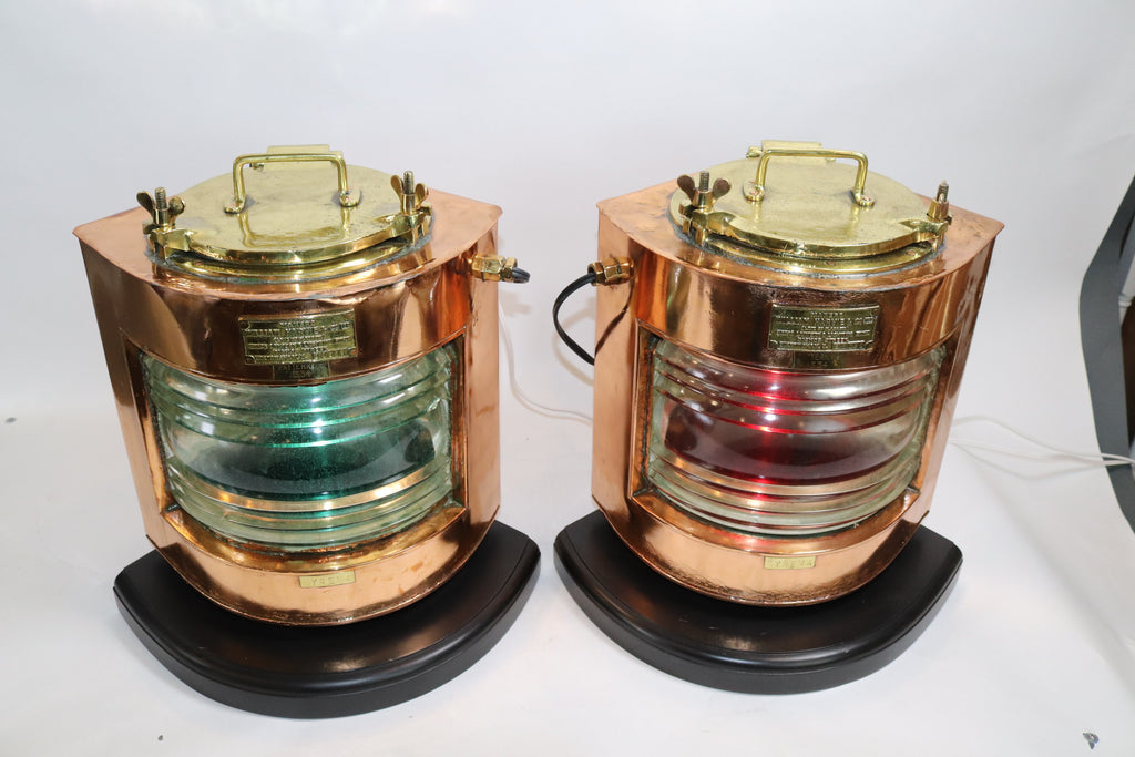 Copper Shops Port and Starboard Lanterns