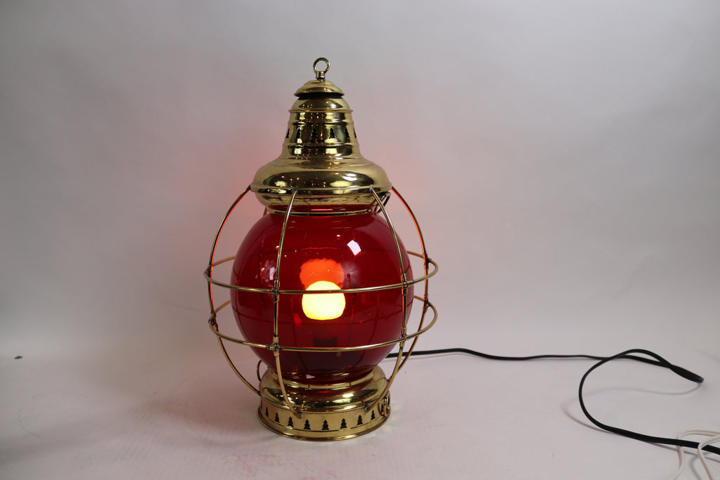 Solid Brass Ships Onion Lantern