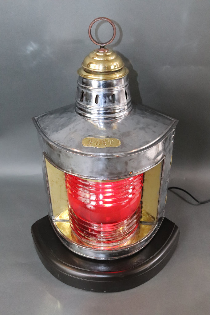 Polished Steel Ships Lantern
