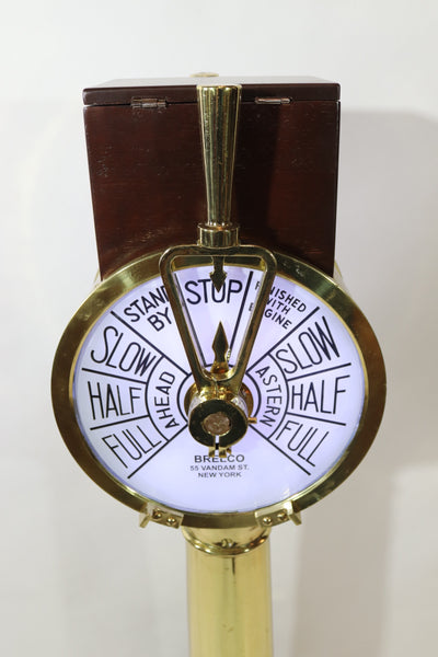 Brass Ships Engine Order Telegraph