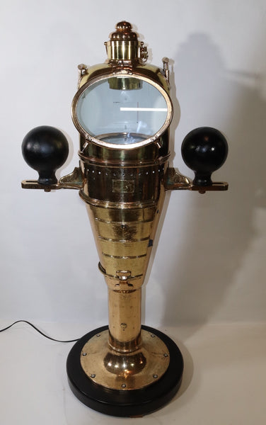 Massive WWI U.S. Navy Battleship Binnacle