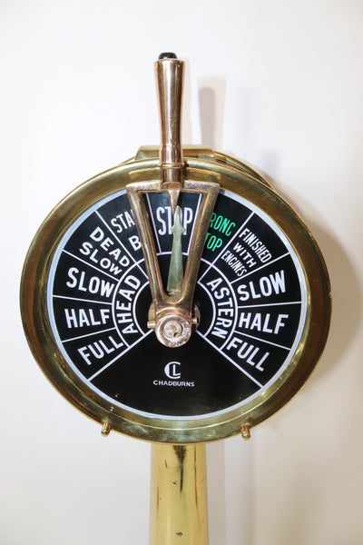 Solid Brass Ships Engine Order Telegraph by Chadburns