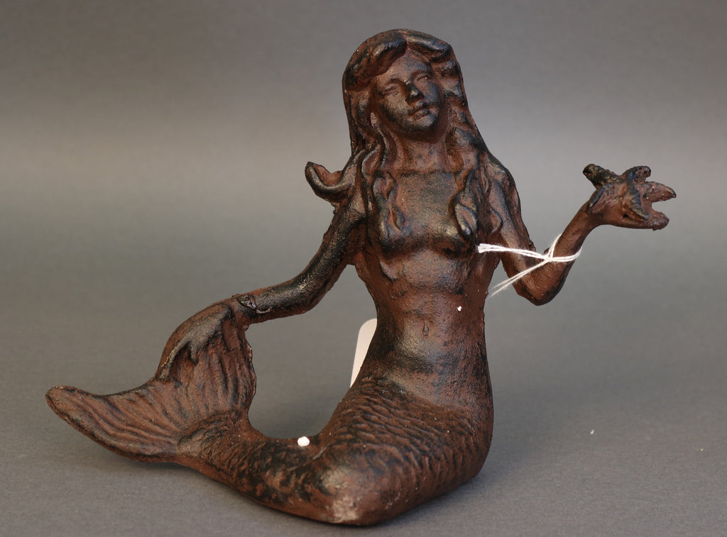 Cast Iron Mermaid *new