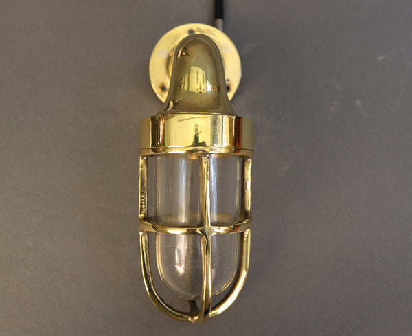 Authentic Brass Companionway Light *new