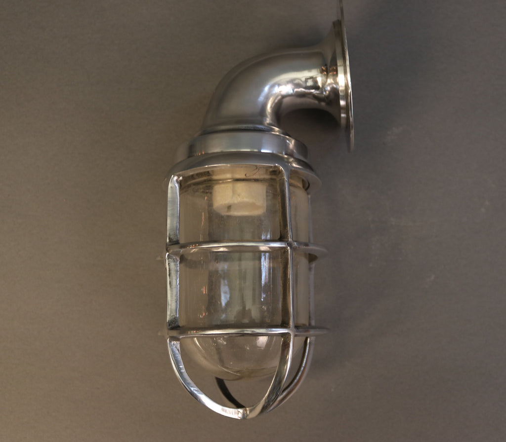 Authentic Aluminum Cage Light, 11""