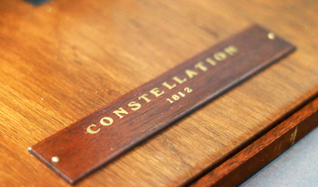 "Admiralty Style Model | ""Constellation"" of 1854 