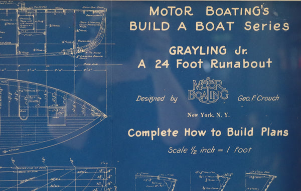 Motor Boating Blueprint