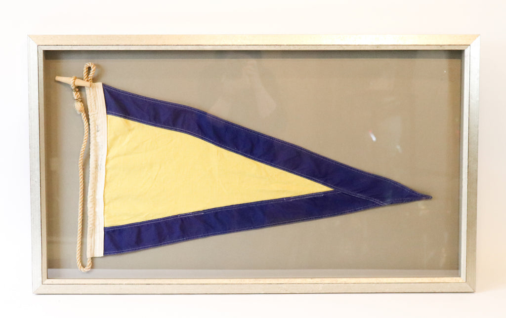 NATO Yacht Race Flag in Frame