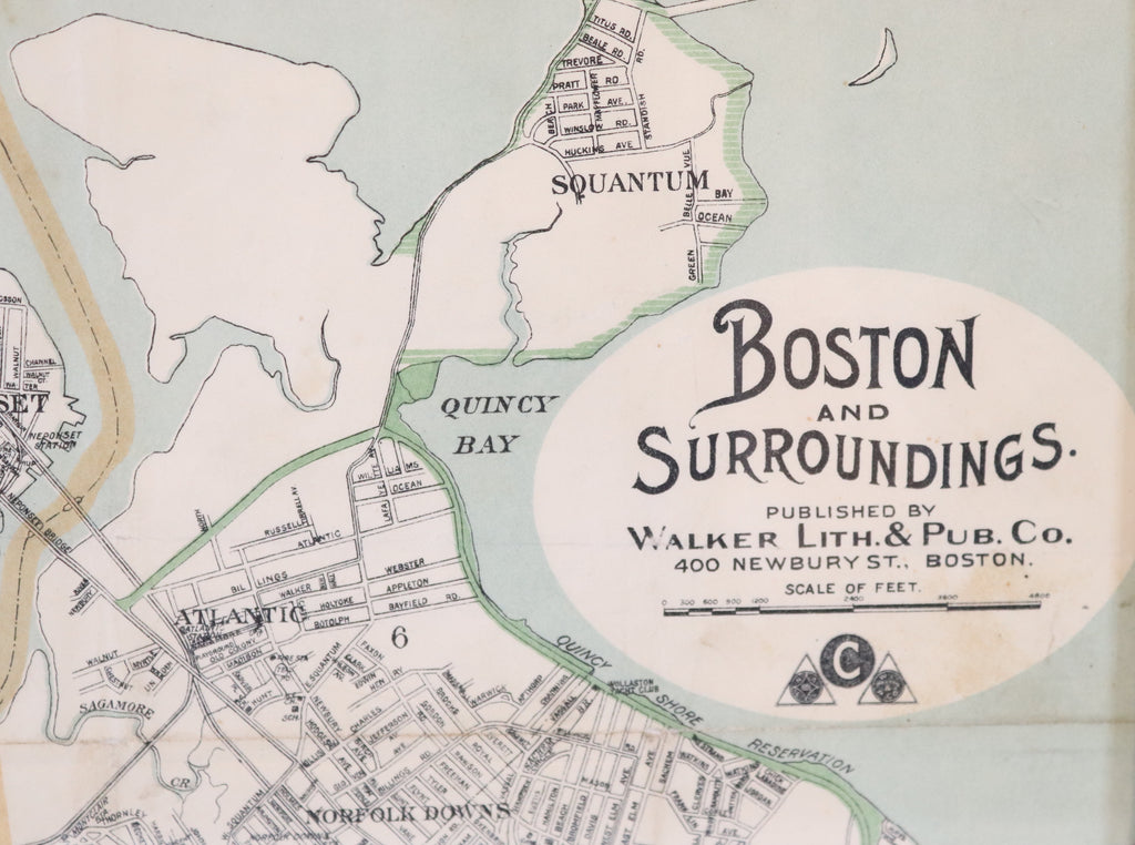 Original Map of Boston