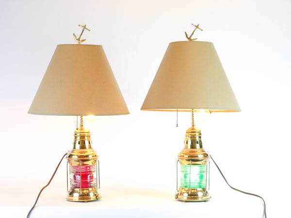 Ship Lantern Table Lamps