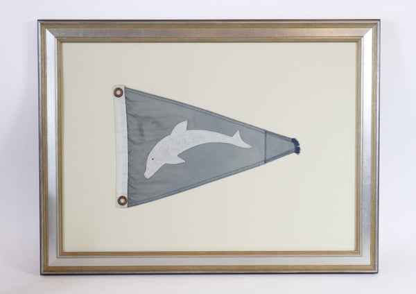 Nautical Burgee Flag of Dolphin