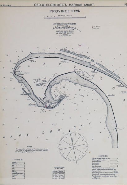 1901 Provincetown Chart