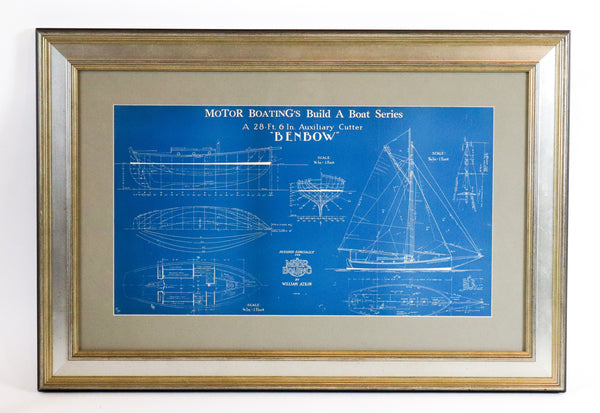 Motor Boating Magazine Blueprint