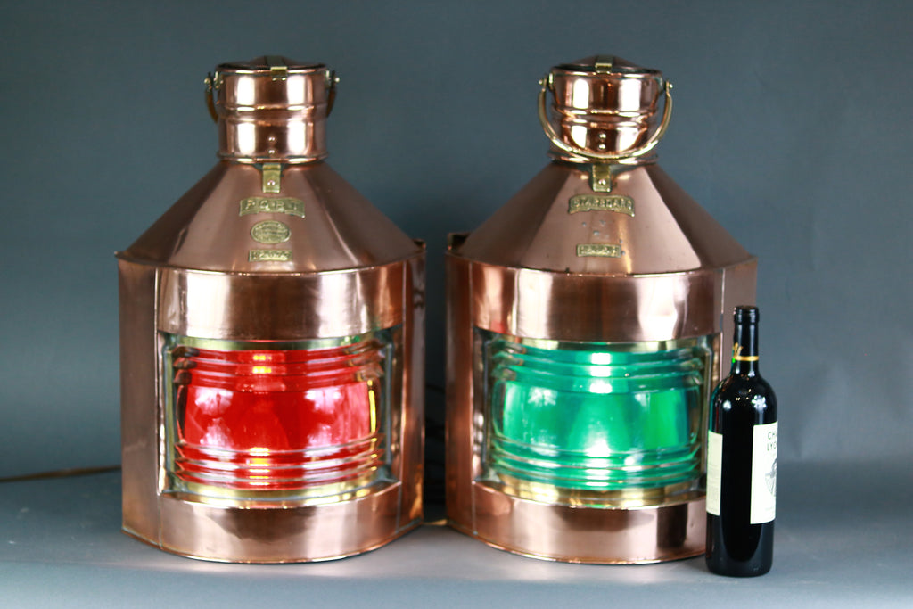 Pair of Port & Starboard Lanterns