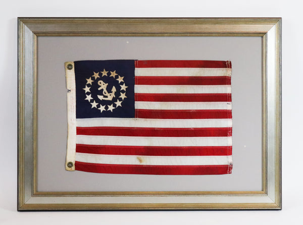 Framed Nautical Ensign Flag