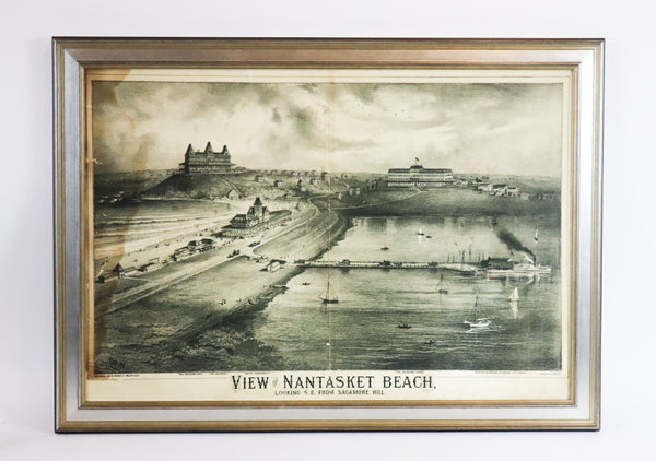 View of Nantasket Beach, Hull, Massachusetts