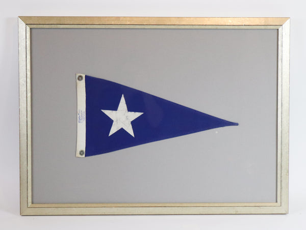 Framed Nautical Pennant