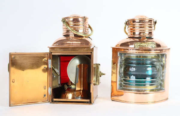 Port and Starboard Lanterns | English