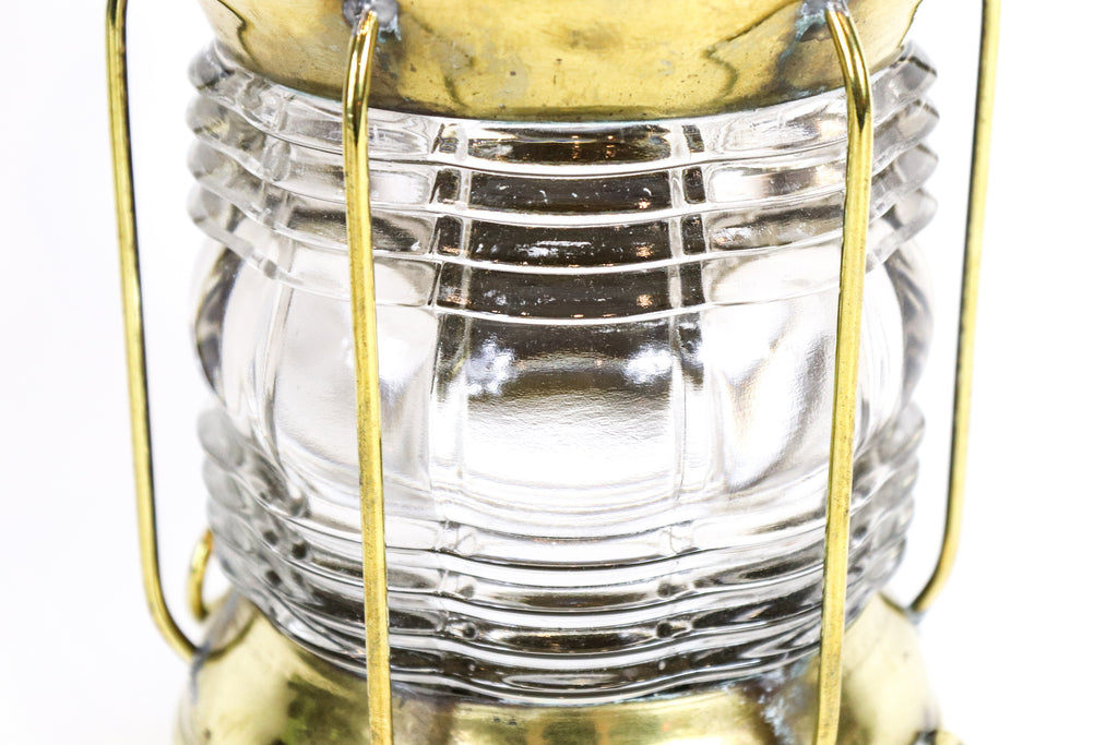 Brass Anchor Light | Fresnel Lens