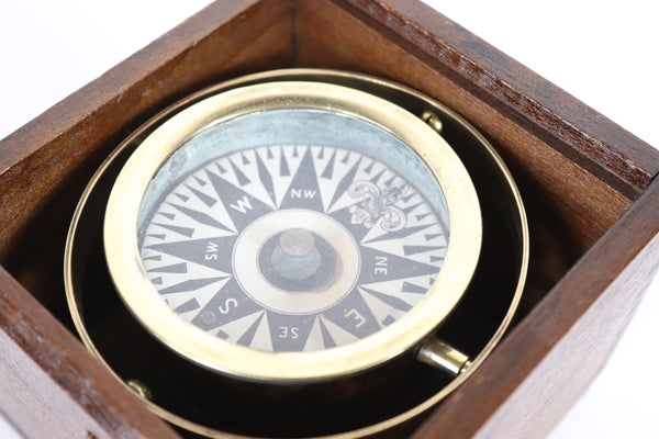 Antique Boat Compass
