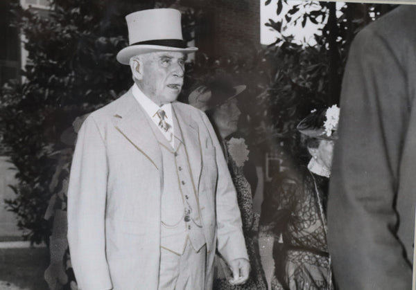 Original Historic Press Photograph of JP Morgan, Jr.