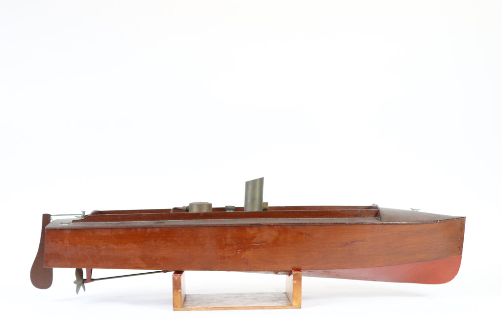 Boucher Steam Launch Model