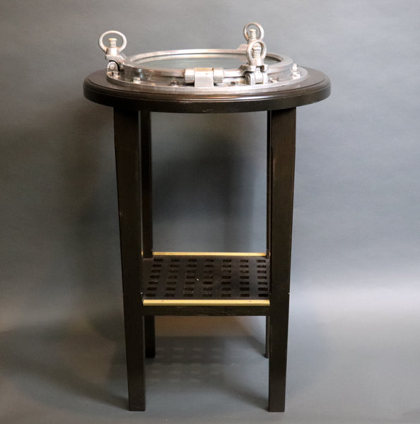 Authentic Porthole Table | Bistro Height