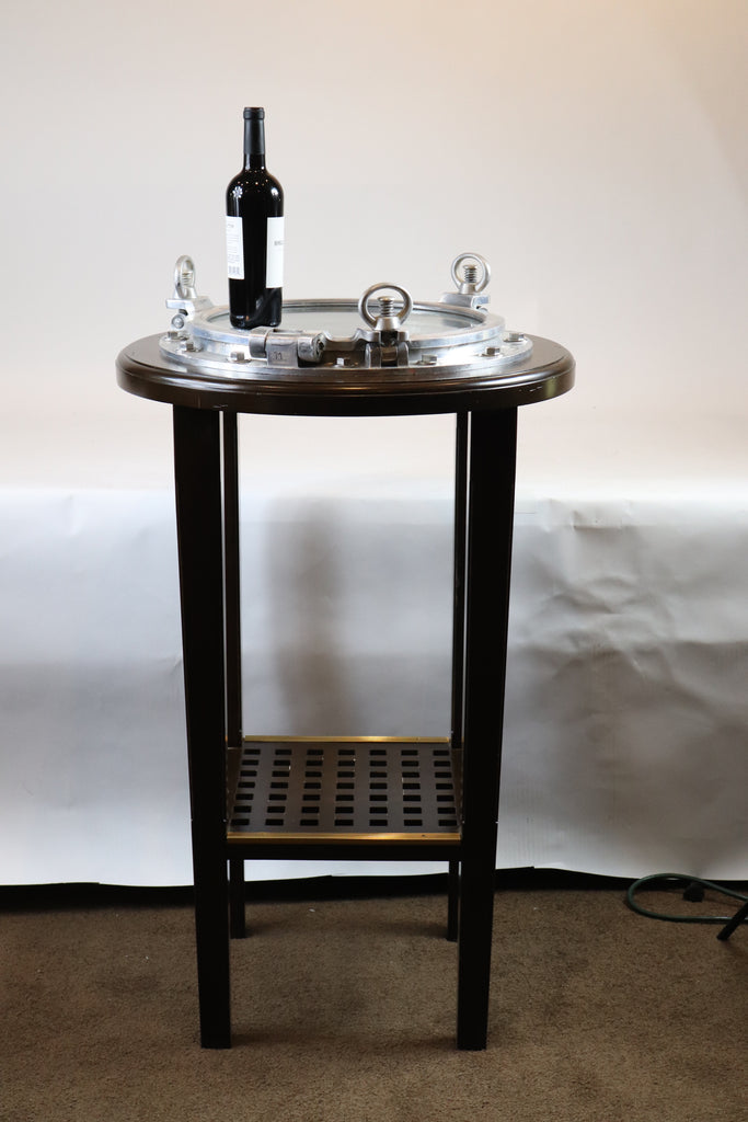Aluminium Porthole Bistro Table